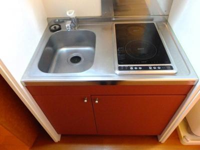 【キッチン】レオパレスエスペランサ