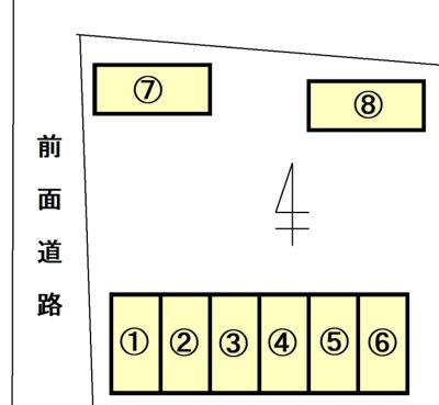 【外観】持田町月極駐車場