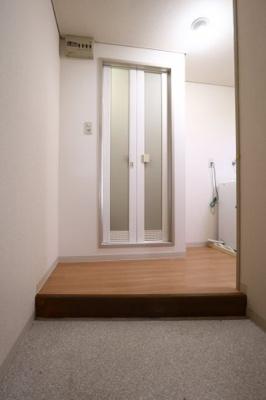 玄関入ってすぐにお風呂直行!