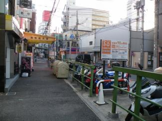 【前面道路含む現地写真】尼崎市昭和通 売土地