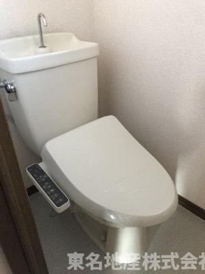 【トイレ】コーポラス水口