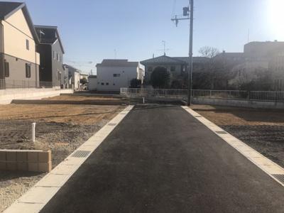 【前面道路含む現地写真】小野市天神町16期 3号棟