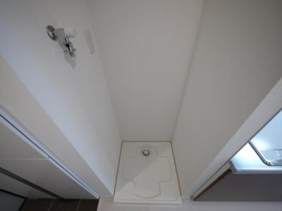 洗濯機置き場はこちらです