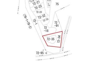 【土地図】広島市東区牛田東2丁目 土地
