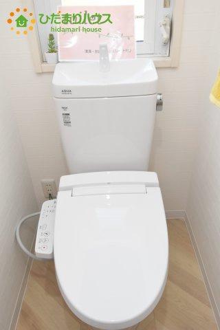 【トイレ】桶川市坂田東2丁目 中古一戸建て
