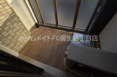 【バルコニー】エスリード大阪CENTRAL AVENUE