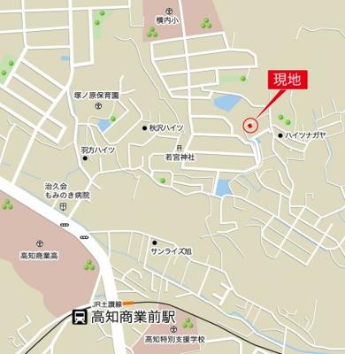 【地図】佐々木町 4LDK