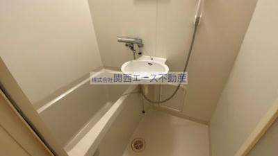 【浴室】レオパレスリバーサイド