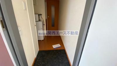 【玄関】レオパレスリバーサイド