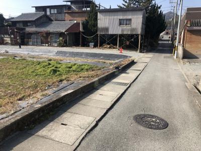 【前面道路含む現地写真】西脇市和田町売土地