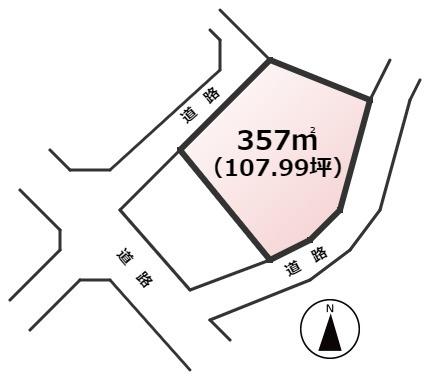 【土地図】飯塚市庄司土地