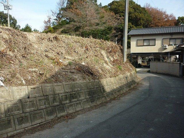 【前面道路含む現地写真】飯塚市庄司土地