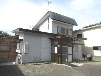 【外観】八峰町山内31-10・中古住宅
