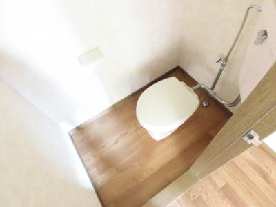 清潔感のあるきれいなトイレです♪