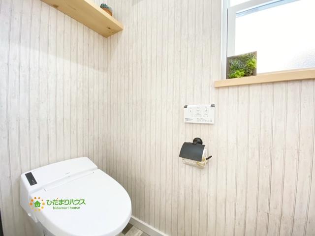 スタイリッシュなタンクレストイレを完備しております!!