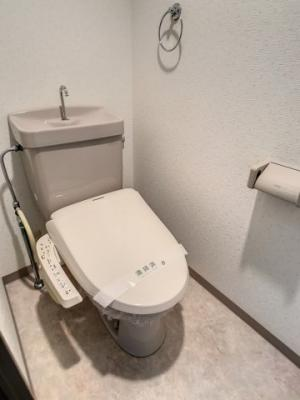 【トイレ】クローバーマンション