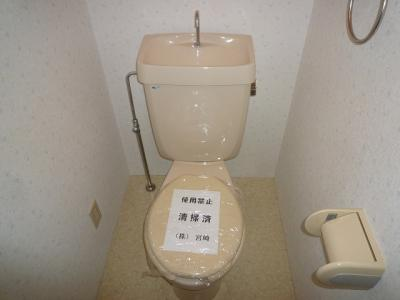 【トイレ】ノーブルライフ B棟