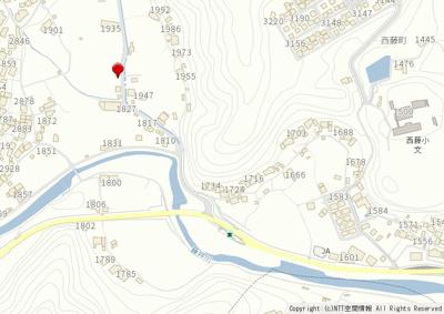【地図】尾道市西藤町 新築戸建