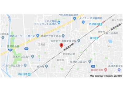 【地図】ハイツ菅原