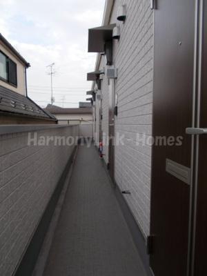 ハーモニーテラス豊玉中の廊下(2階)☆