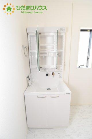【独立洗面台】上尾市上 15期 新築一戸建て グラファーレ 08