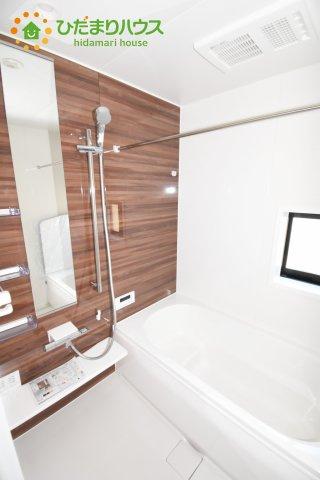 【浴室】上尾市上 15期 新築一戸建て グラファーレ 08
