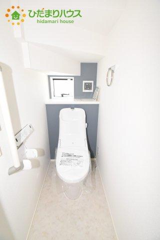 【トイレ】上尾市上 15期 新築一戸建て グラファーレ 08