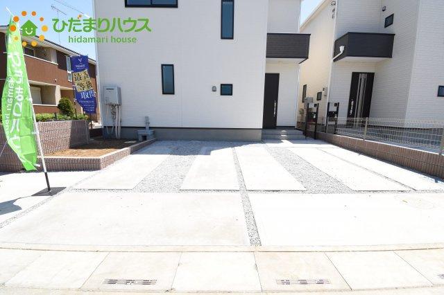 【駐車場】上尾市上 15期 新築一戸建て グラファーレ 08