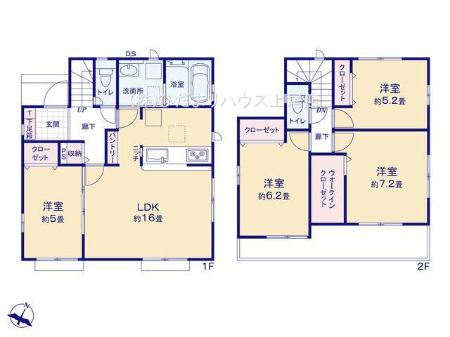 上尾市上 15期 新築一戸建て グラファーレ 08