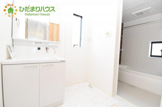 【洗面所】上尾市上 15期 新築一戸建て グラファーレ 08