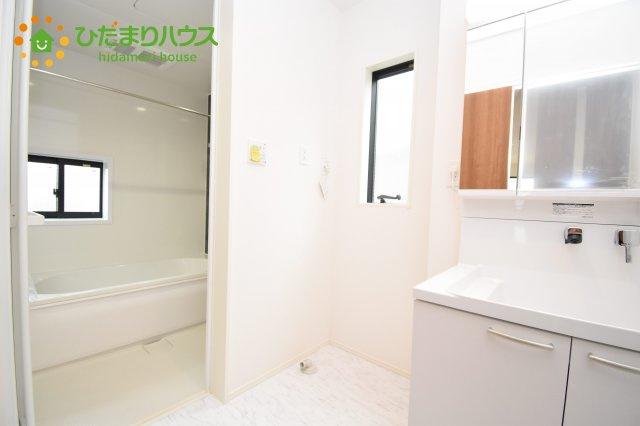 【洗面所】上尾市上 15期 新築一戸建て グラファーレ 01