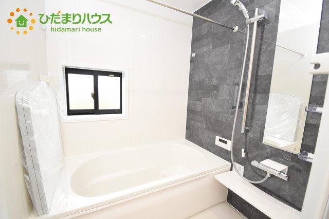 【浴室】上尾市上 15期 新築一戸建て グラファーレ 01
