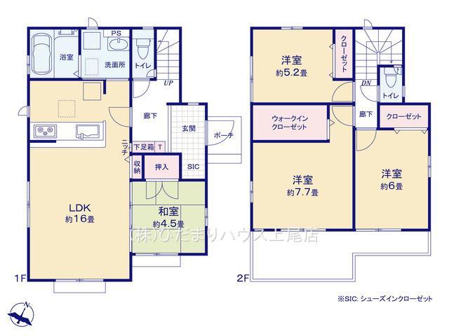 上尾市上 15期 新築一戸建て グラファーレ 01
