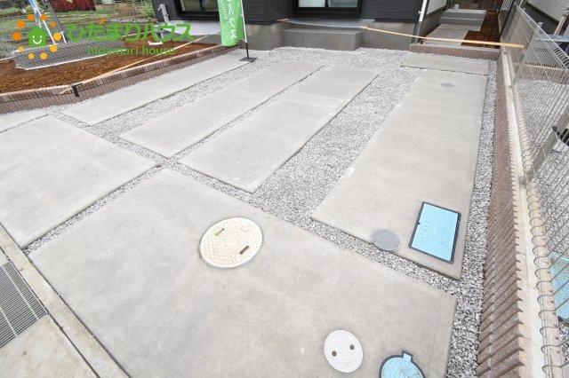 【駐車場】上尾市上 15期 新築一戸建て グラファーレ 01