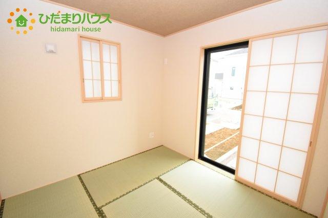 【和室】上尾市上 15期 新築一戸建て グラファーレ 02