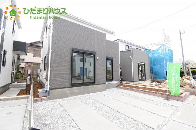 【外観】上尾市上 15期 新築一戸建て グラファーレ 02