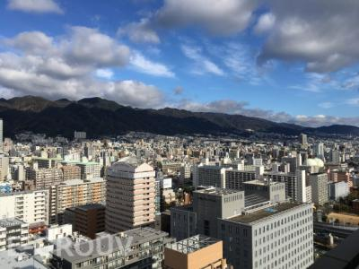 お部屋からの眺望写真です!北側は六甲山系が望める陽当りの良い住戸です!