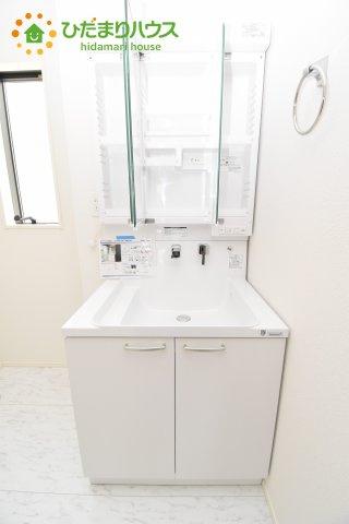 【独立洗面台】上尾市上 15期 新築一戸建て グラファーレ 03