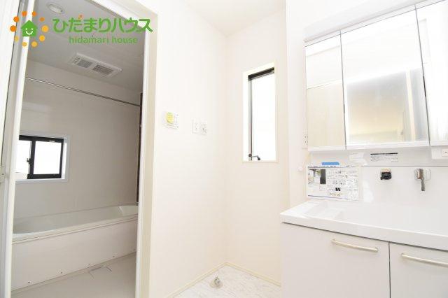 【洗面所】上尾市上 15期 新築一戸建て グラファーレ 03