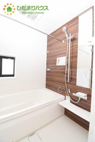 【浴室】上尾市上 15期 新築一戸建て グラファーレ 03