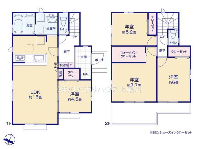 上尾市上 15期 新築一戸建て グラファーレ 03