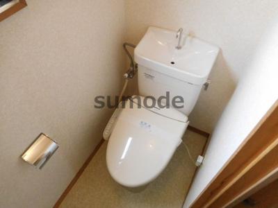 【トイレ】モアコート西真上