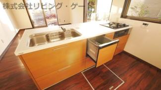 食洗器付きのキッチンは新規交換済み