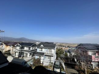 平塚市の街並みが遠望できます。
