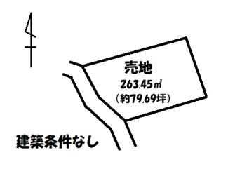 【土地図】因島中庄町 売土地