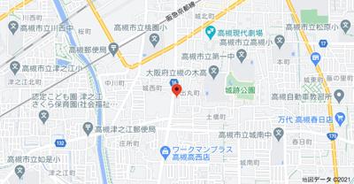 【地図】出丸町貸家 (株)Roots
