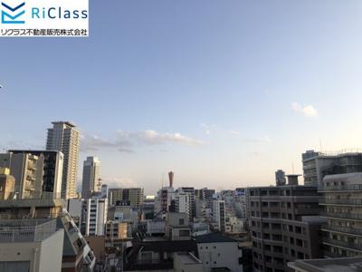 神戸タワーが見えます。