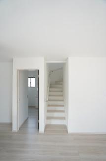 リビングイン階段です。