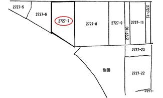 【土地図】広島市西区己斐上2丁目 己斐もみじヶ丘