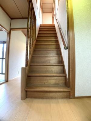 階段です(^^)